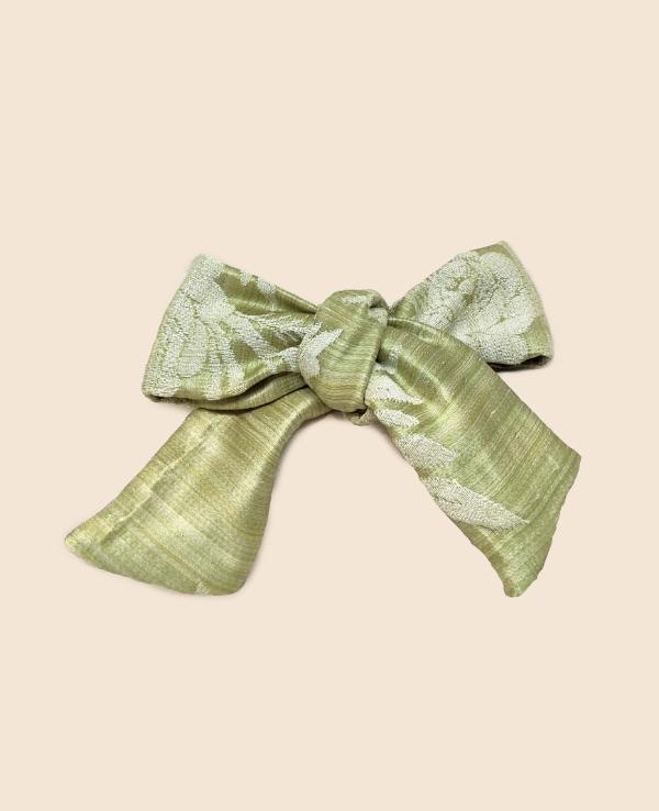 Lazo verde musgo